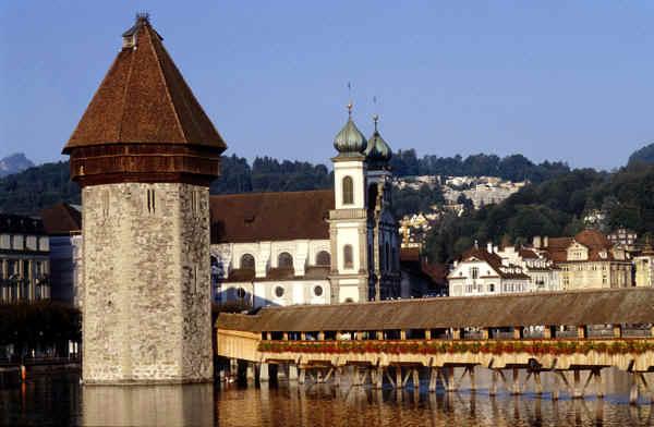 Swiss City Lucerne Switzerland Travel Guide Tourist Information Maps