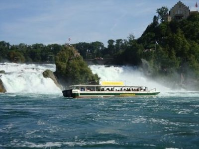 Swiss Swiss Rhine Falls Switzerland Waterfalls Switzerland Rheine - Swiss river to the rhine